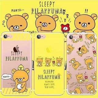 預購🐻 鬆弛熊 輕鬆熊 Rilakkuma 手機殼 (多型號)