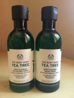TBS Tea Tree Toner & Facial Wash