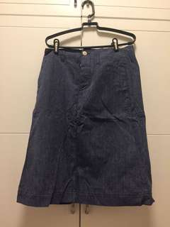 Vintage Denim Skirt Beams Boy Made in Japan
