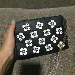 Zara Floral Chain Sling