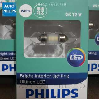 Lampu Kabin Festoon Philips ORIGINAL 6000K TERANG