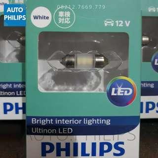 Lampu Kabin Festoon Philips ORIGINAL 6000K TERANG