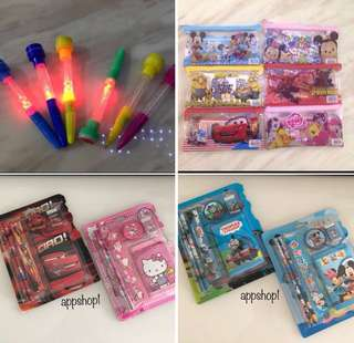 Birthday party goodies bag, stationary goody bag gift