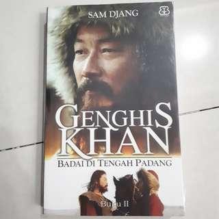 Buku Novel: Genghis Khan