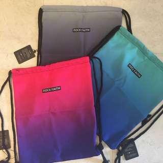 [ PO ] Gradient Drawstring Bag