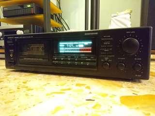 Onkyo TA-207 Integra stereo cassette tape deck