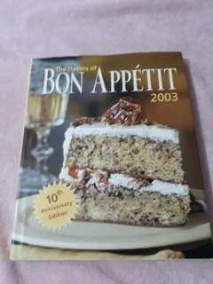 "Selling my beloved ""The flavors of Bon Appetit"""