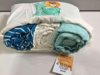 Tula Blanket Set - Waves