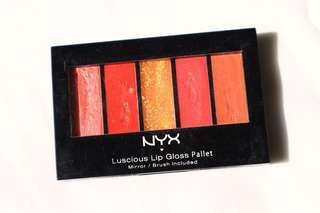 Lipstick & Lipgloss NYX Palette