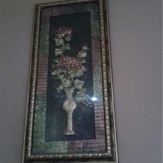 Frame bunga hiasan