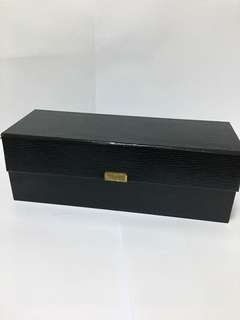 Leatherette ring storage boxes