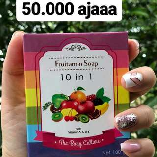 [SALE] FRUITAMIN SOAP 10 IN 1