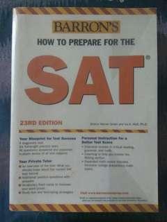 Barron's SAT: 23rd edition