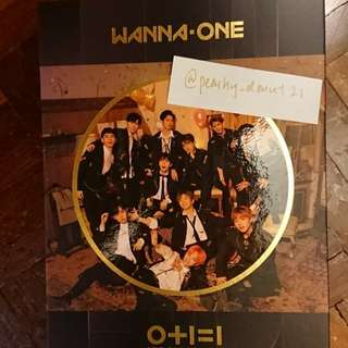 Wanna One 2nd Mini Album 0+1=1 I Promise You