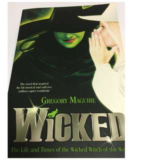 [Novel] Wicked by Gregory Maguire