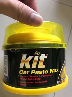 Kit car wax