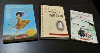 Set of 3 Books - all for P200.00