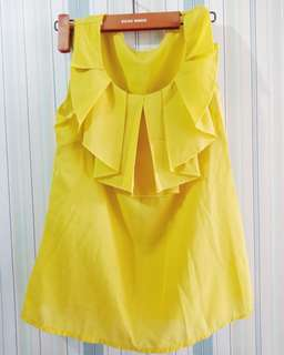Sleeveless (yellow)