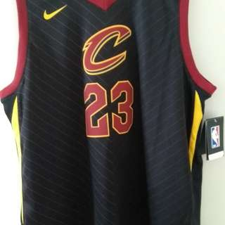 NBA Lebron James Cleveland Cavaliers jersey Authentic
