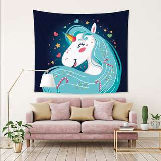 Unicorn tapester