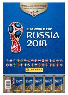 Selling / Trading PANINI Russia World Cup 2018 Stickers