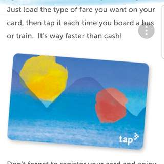 TAP metro card for Los Angeles