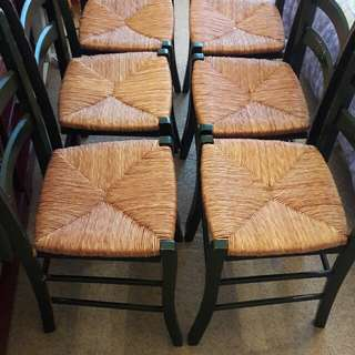 6 Chairs for $50