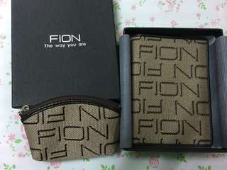 Fion purse with coin bag