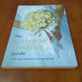 The complete wedding guide fully coloured