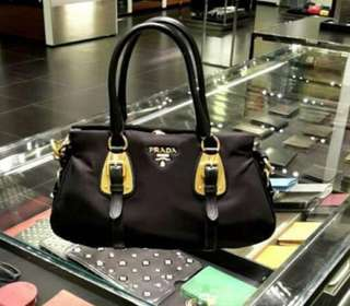 Ready stock 💯 Authentic Prada Tessuto Tote Bag