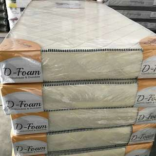 "3' single mattress 3X5""@@ 100% ribon foam"