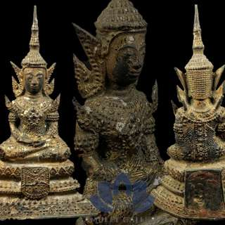 Rattanakosin Statue (about 160 years old) Ht:12.7cm Base: 7.7cm