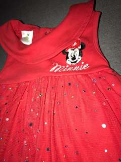 Mini mouse Red top