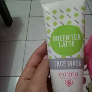 Emina green tea facemask