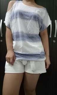 Genevieve Off Shoulder Blouse