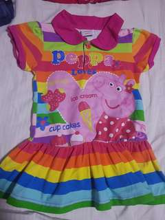 Polo Shirt Dress 2-3 Years Old