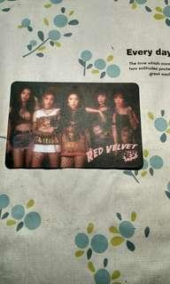 Red Velvet yes卡