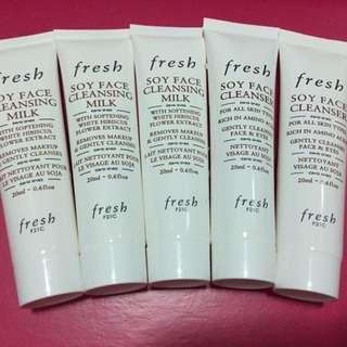 Fresh soy face cleanser / cleansing milk 大豆卸妝洗面乳
