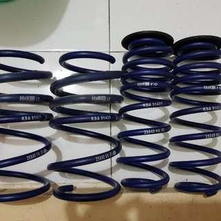 H&R lowering springs for golf mk7 gti (Very New)