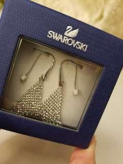 Swarovski Earrings耳環 真品 水晶耳環
