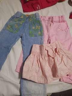 Set of pants and skirt Toddler Girl