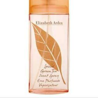 elizabeth arden spiced green tea perfume