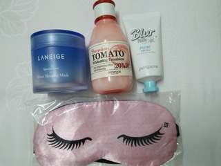 Skincare Products to let go