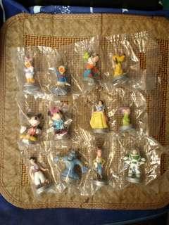 Disney一百年地鐵紀念公仔mtr,80/one pack
