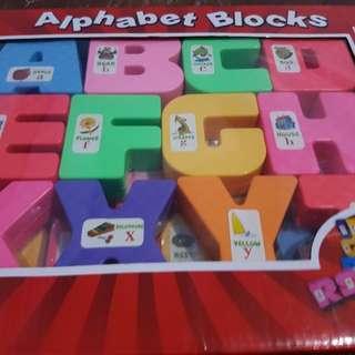 Kaizen Alphabet Blocks
