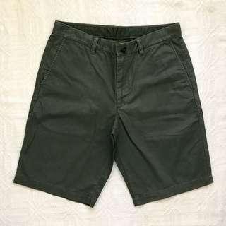 Uniqlo Dark Green Shorts
