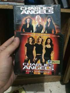 Charlie's Angels 1 and 2 (VCD)