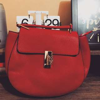 Red Sling / Hand Bag