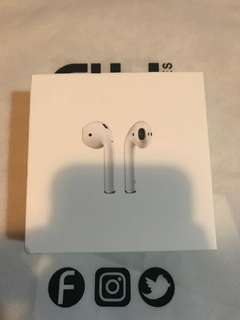 Apple Airpods BOX ONLY