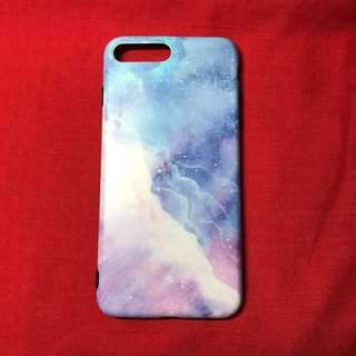 Purple galaxy case for iPhone 7plus